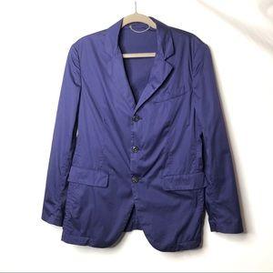 CP company blue lightweight blazer jacket 48 M C8